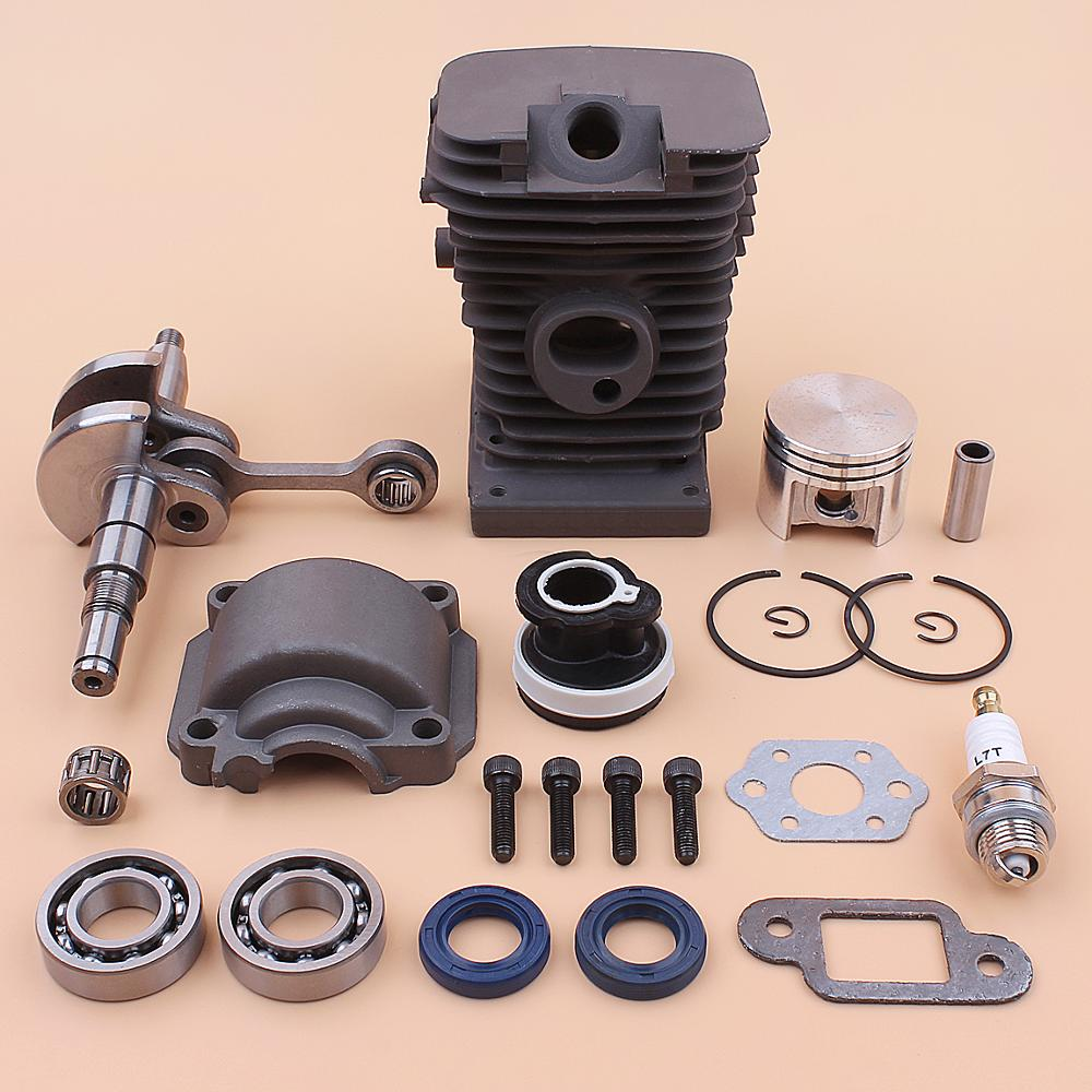 home improvement : Cylinder Piston Kit for Partner 490 510CCS Chainsaw 503625502