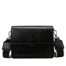 Fashion Ladies Messenger Bag Waterproof Pu Leather Boutique Shoulder Simple Design Small Bags Solid Color