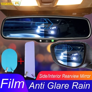 Universal Car Styling Parts Wing Interior Rear View Side Rear View Rainproof Scratchproof Protective Sticker Anti-Glare Film