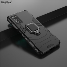 Holder Magnetic Case For Huawei Honor V30 Pro Case 3-In-1 Ring Stand Cover For Huawei Honor V30 Pro Case Honor V30 Pro 6.57'' 2 1mm thick luxury bumper case for huawei honor v30 germany bayer material case honor v30 pro independent plating button cover