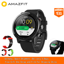 [In STOCK] Huami AMAZFIT Stratos GPS Watch 5ATM Waterproof Sports Watch Music Control 512MB/4GB Smartwatch for Android iOS цена и фото