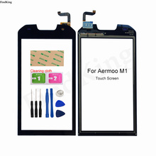 Mobile Touch Screen For Aermoo M1 Touch Screen Front Glass TouchScreen Sensor Digitizer Panel Repair Parts Tools 3M Glue Wipes