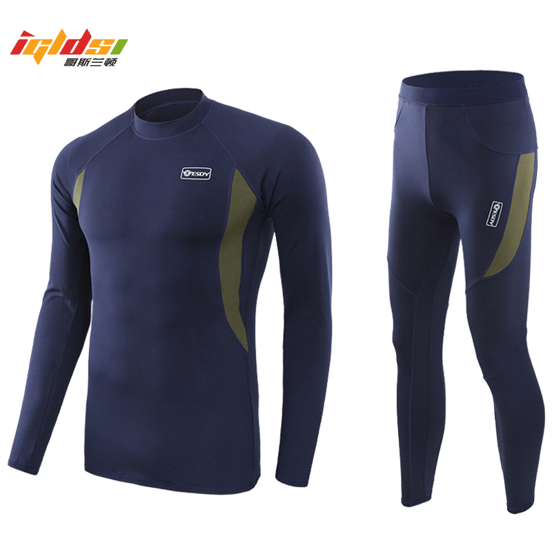 Men's Fleece Tactical Uniforms Winter Warm Underwear Sets Military Army Polartec Compression Underwear Soft Clothing Sets
