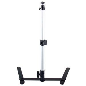 Image 4 - ل صورة المكائن البسيطة Monopod + الهاتف كليب ملء في ضوء بلوتوث التحكم طاولة قابلة للضبط أعلى حامل مجموعة
