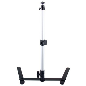Image 4 - for Photograph Equiment Mini Monopod+Phone Clip Fill In Light Bluetooth Control Adjustable Table Top Stand Set