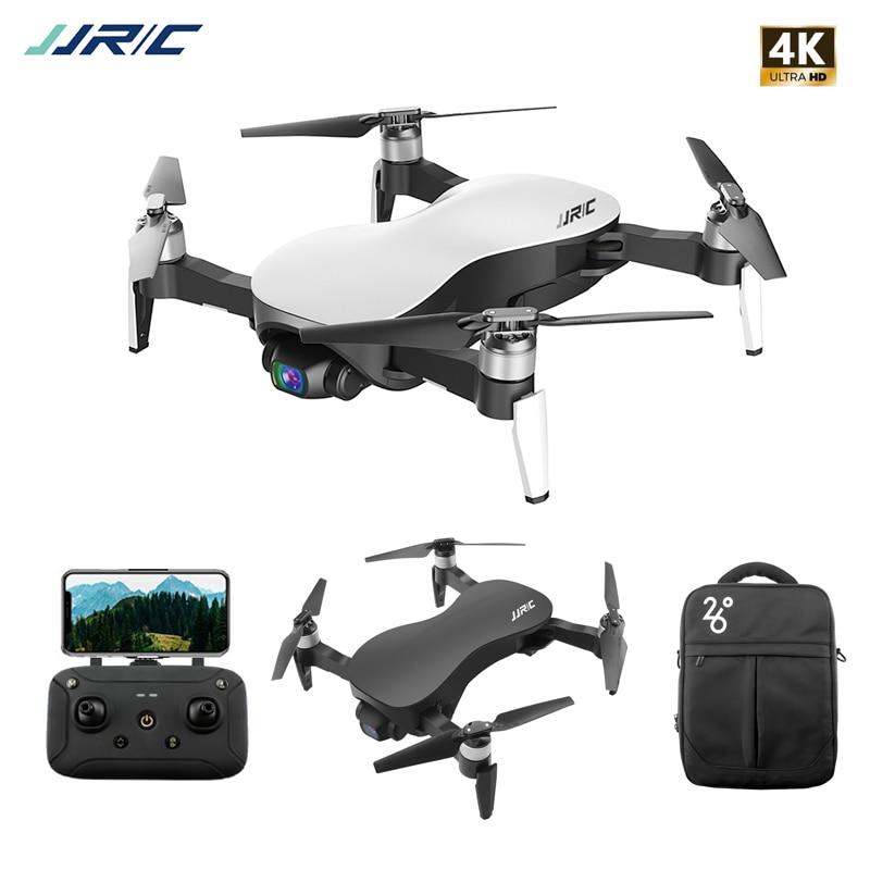 JJRC X12 Anti-secousse 3 axes cardan GPS Drone avec WiFi FPV 1080P 4K HD caméra moteur sans brosse pliable quadrirotor Vs H117s Zino