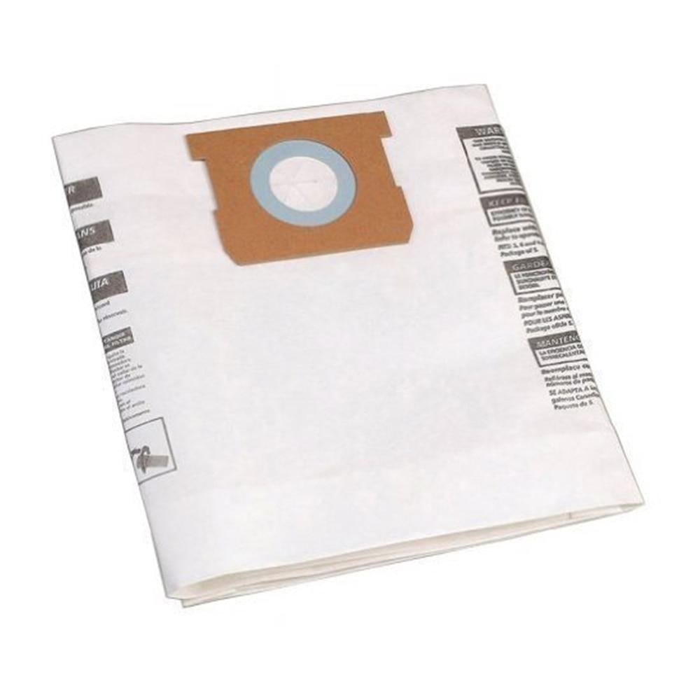 1pc Filter Bag Dust Bag For Shop-Vac 9066100 5-8 Gallon Series Vacuum Cleaner Parts Accessories