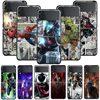 Smartphone Case For Samsung Galaxy Z Flip3 5G Z Flip 3 z flip ZF 5G Cover PC Capa Hard Funda Coque Marvel Spider Man