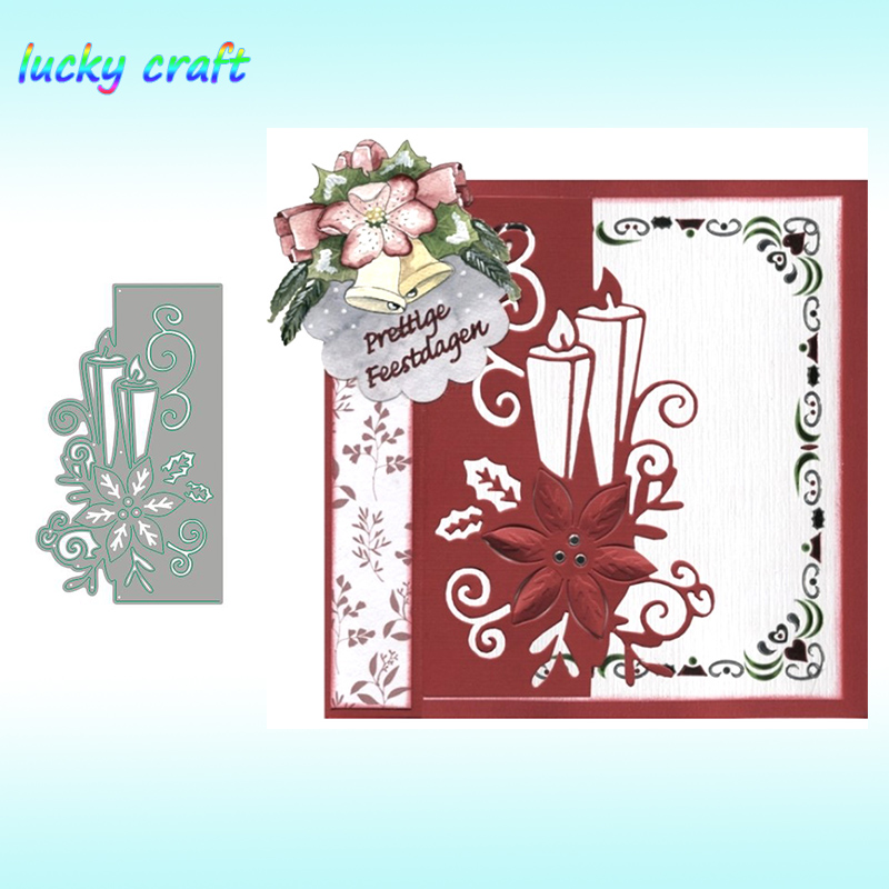 Lace Flowers Metal Cutting Dies for DIY Scrapbooking Album Paper Card Craf CH