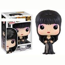 Funko POP Elvira maîtresse du noir avec boîte originale Collection modèle figurines en vinyle jouets pour enfants cadeaux de fête