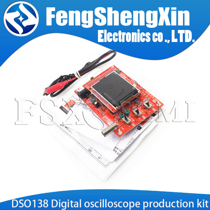 DSO138 Digital oscilloscope production kit Electronic teaching training competition kit STM32
