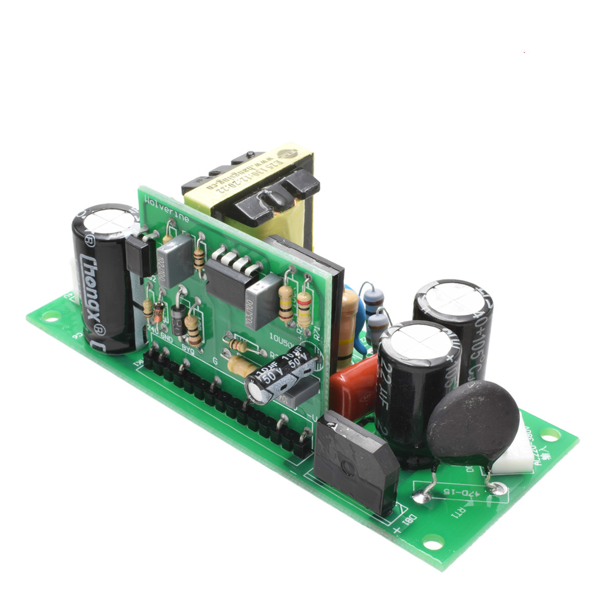 Auxiliary Electric Board For Welding Machine Single Tube Igbt Output 24v Auxiliary Power Supply Dual Voltage Input Leather Bag