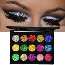 15 Color Eyeshadow Diamond Glitter Eye Shadow Pallete Professional Eye