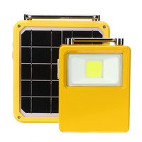 LED Camping Light Rechargeable Solar Portable Lanterns Light Solar Lamp Tent Lantern USB Charger Port Outdoor Hiking Emergency