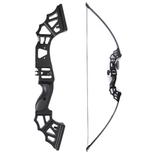 30/40/50 Lbs Straight Pull Bow 51 Inches with Arrow Rest T Shape Sight Suit Right Hand User for Archery Hunting Shooting 60 inches recurve bow hybrid bow 30 70 lbs in black camo for right hand user archery bow shooting hunting