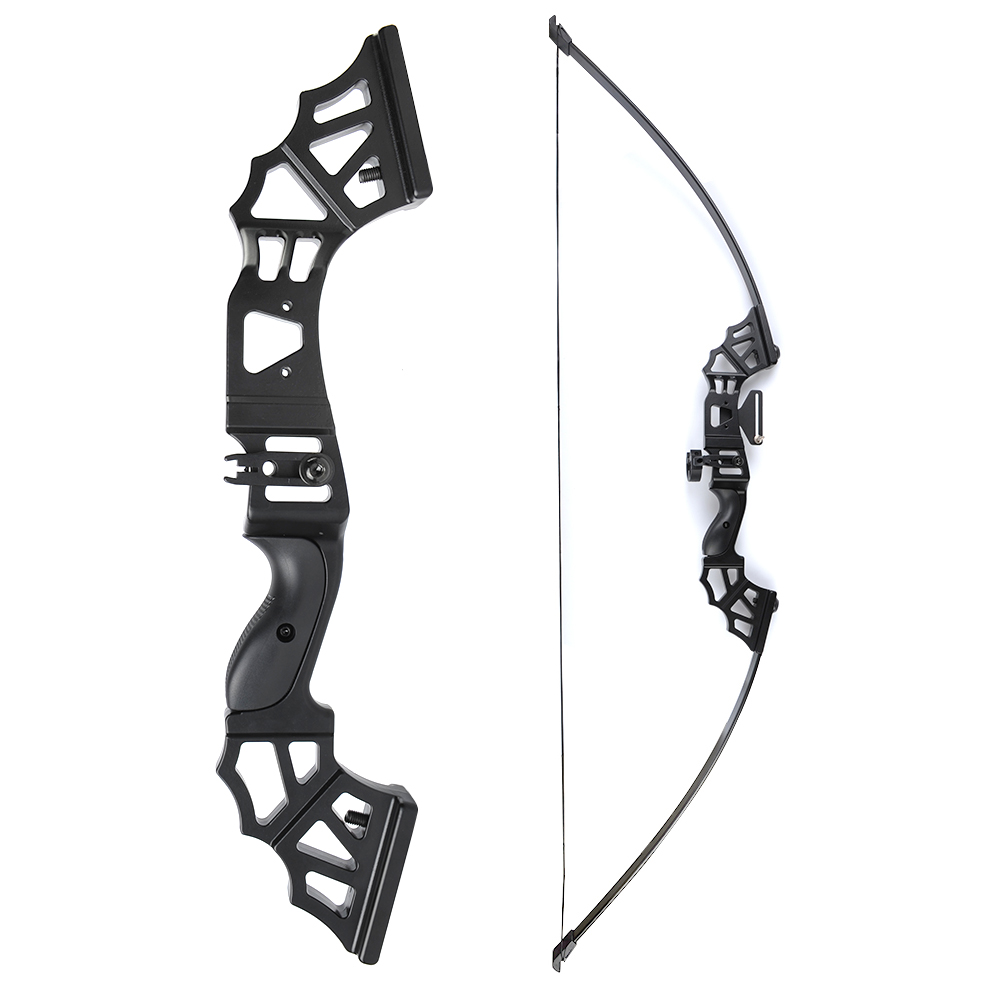 30/40/50 Lbs Straight Pull Bow 51 Inches With Arrow Rest T Shape Sight For Right Hand User For Archery Hunting Shooting Sports