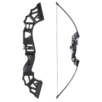 30/40/50 Lbs Straight Pull Bow 51 Inches with Rest for Right Handed for Archery Hunting Shooting Outdoor Sports