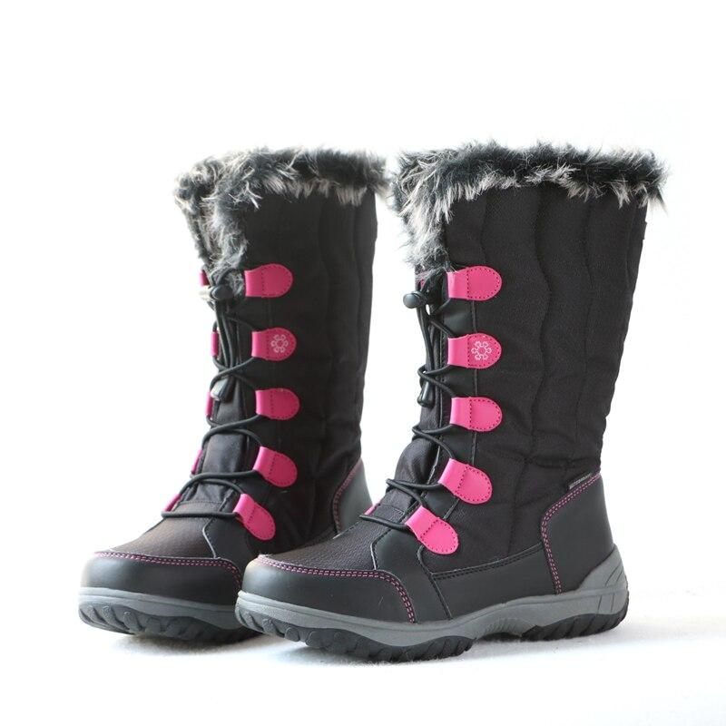 Bottes de neige pour enfants en plein air bottes légères et imperméables pour enfants