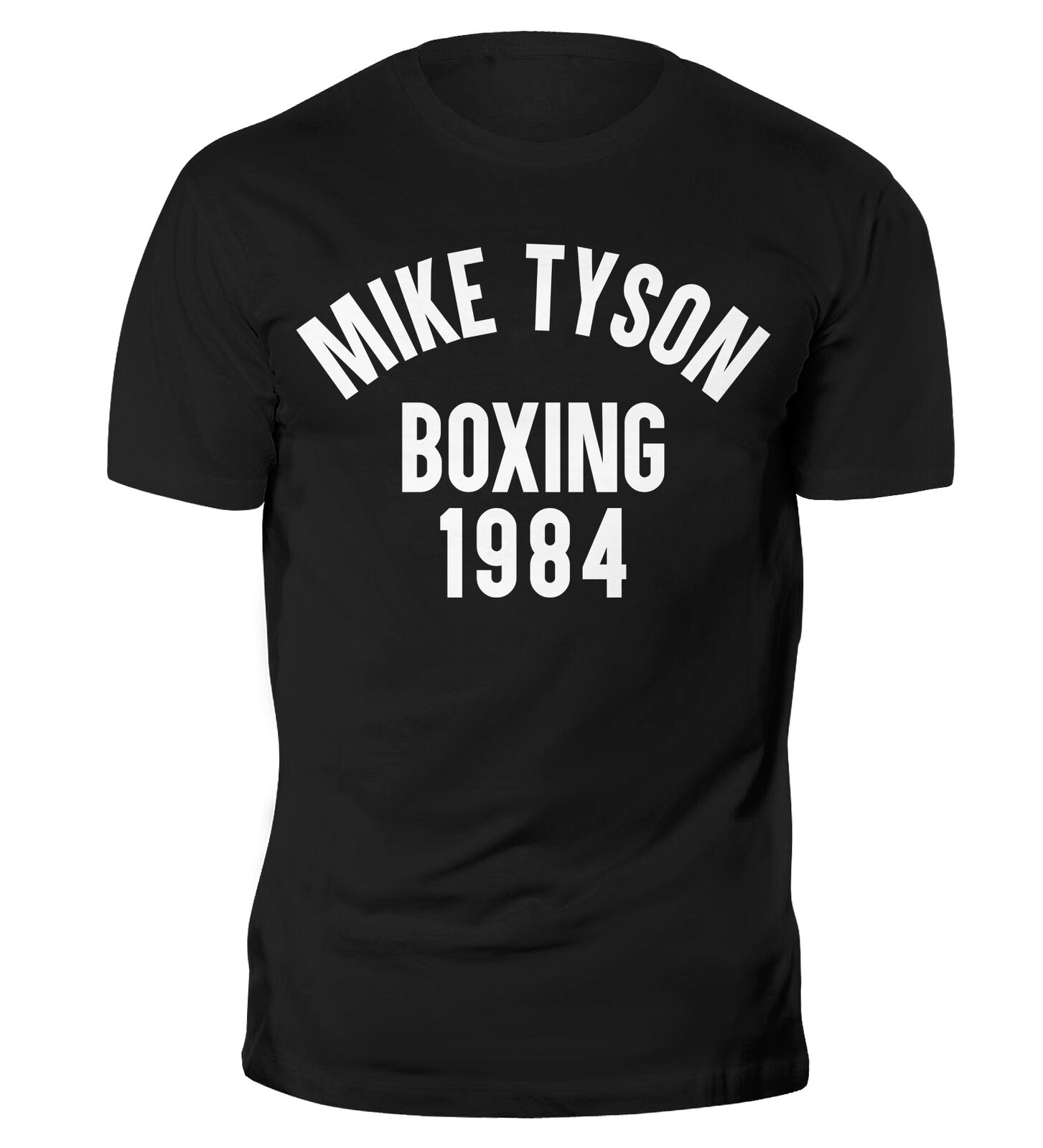 Mike Tyson Legend Boxing 1984 T Shirt Gym Training Muscle Running MMA Top Men