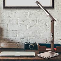 Artpad moderne leder USB   haven geschenken... Aan de Dimmer alarm klok / kalender leidde. Bureau lamp Licht & verlichting -