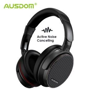 Image 1 - Ausdom ANC7S Aktive Noise Cancelling Wireless Kopfhörer Bluetooth Headset mit Mic Reinen Klang für TV Sport U bahn Flugzeug