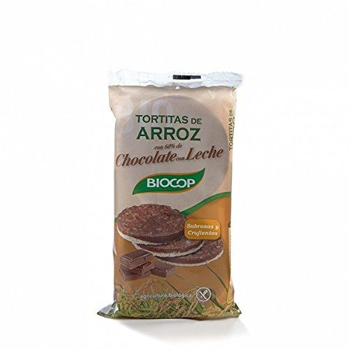 Biocop - Rice Cakes Covered With Milk Chocolate - 100g