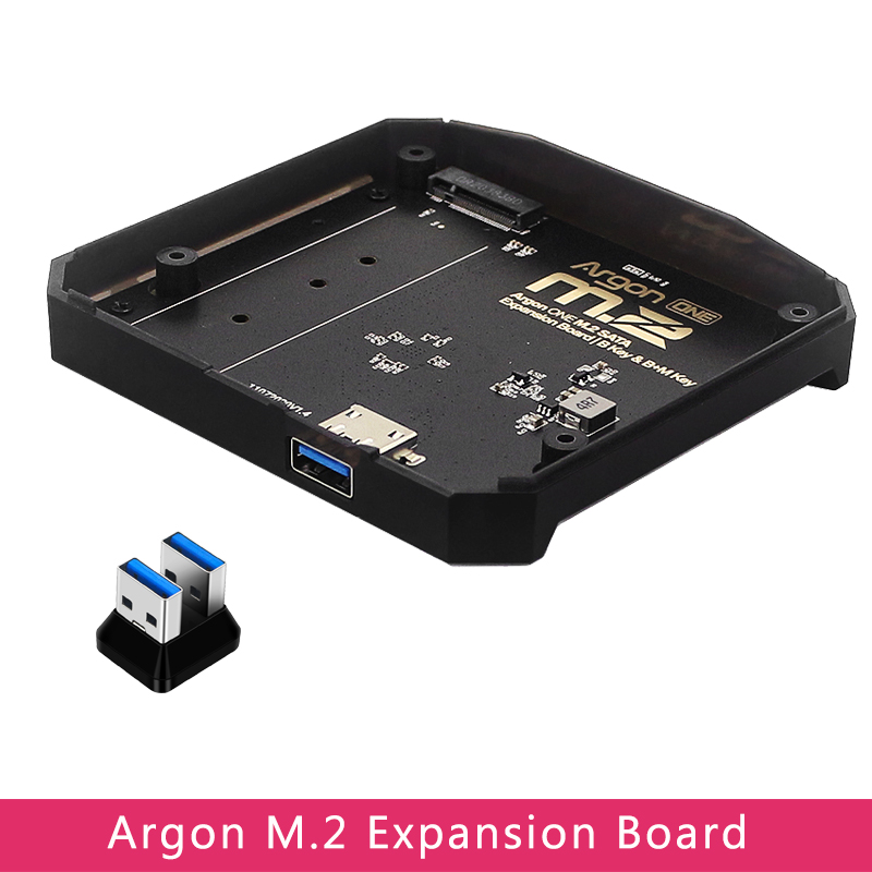 Плата расширения Argon ONE M.2 с USB 3,0 на M.2 SATA, адаптер SSD для Raspberry Pi 4, Модель B, чехол для Argon ONE V2/M.2