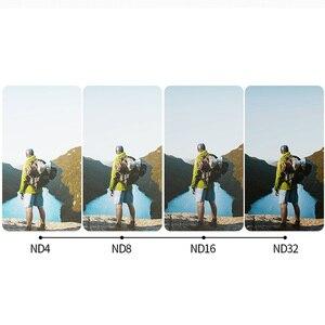 Image 2 - TELESIN 3 Pack ND Lens Protector Kit Set(ND4 8 16 ) Neutral Density Filter for Gopro Hero 5 Hero 6 7 Black Accessoreis