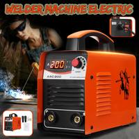 ARC 200 Arc Welder portable welding machine IGBT inverter welding machine with quick connector and hex wrench Automatic