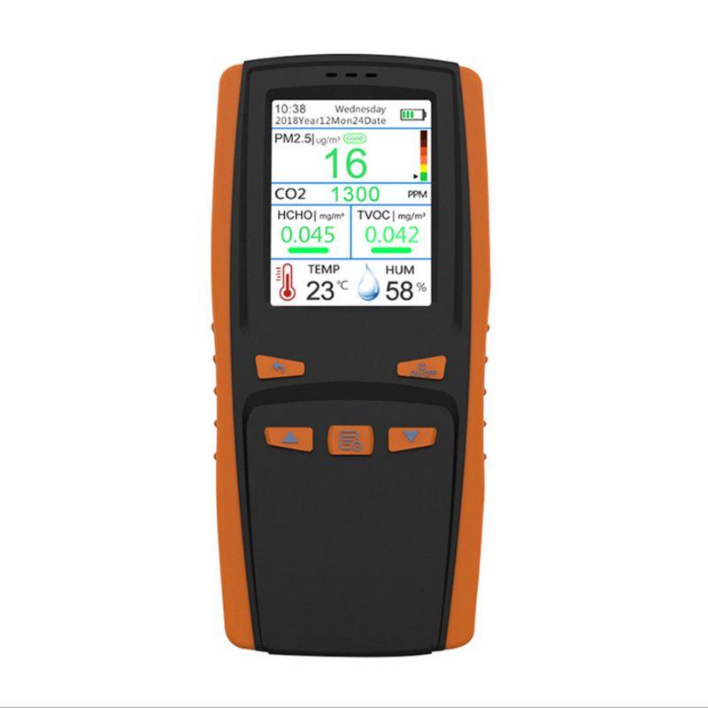 Монитор качества воздуха для частиц PM2.5 PM10 CO2 влажности температуры - 3