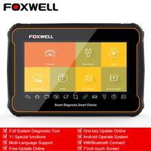 Foxwell GT60 OBD2 Automotive Scanner Volledige System Auto Diagnose Abs Srs Epb Dpf Olie Reset ODB2 Diagnose Scanner Tool Pk MK808