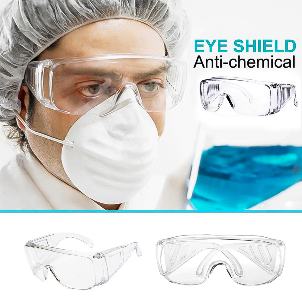 Wide Vision Protective Safety Goggles Disposable Indirect Vent Prevent Infection Eye Mask Anti-Fog Medical Splash Goggles