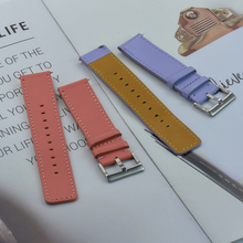 Premium-Grade Leather Watch Strap 22mm Bracelet Quick Release Bar Watchband For Each Brand Watches Band