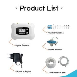 Image 5 - Walokcon 4G AWS 1700 2100 Cellulare Amplificatore di Segnale 70dB Guadagno LCD Display Del Telefono Cellulare Del Segnale Del Ripetitore 4G LTE ripetitore Band 4 Kit