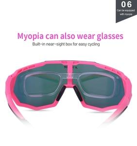 Image 5 - X TIGER Vrouwen Gepolariseerde Zonnebril Fietsen Mtb Fiets Eyewear Ciclismo Fietsen Bril Mountain Racing Bike Goggles