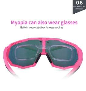 Image 5 - X TIGER Women Polarized Cycling SunGlasses MTB Bicycle Cycling Eyewear Ciclismo Cycling Glasses Mountain Racing Bike Goggles