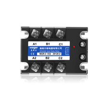 Solid state relay MGR-3 032 38120Z SSR-120DA 120A 380VAC 3~32VDC DC-AC Three phase solid state relay meigeer 100a ssr 100da three phase solid state relay jgx 032 mgr 3 032 38100z
