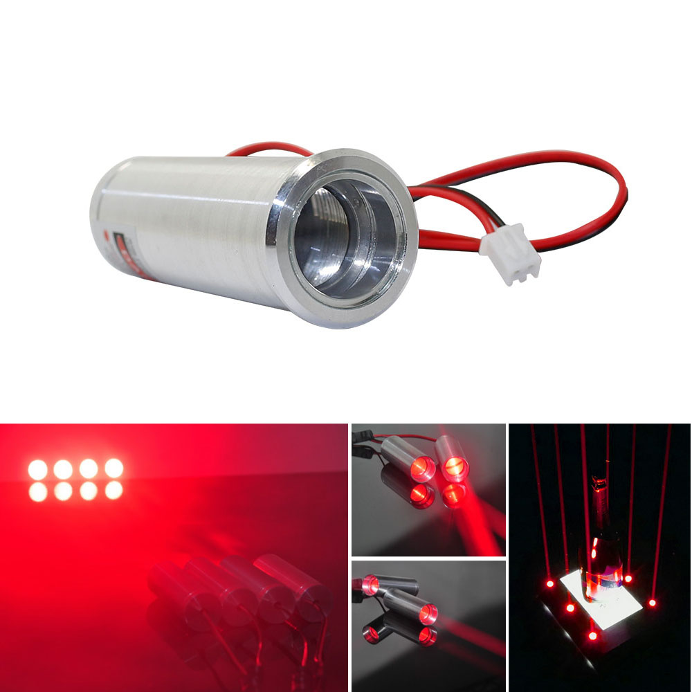 Fat Beam 650nm 660nm 130mW Red Laser  Module For KTV Bar DJ Stage Club Lighting Housing Decration
