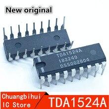 10 шт./лот TDA1524A tono estereo/объем IC TDA1524 DIP-18