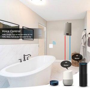 Image 2 - WiFi Smart Boiler Switch Water Heater Smart Life Tuya APP Remote Control Amazon Alexa Echo Google Home Voice Control Glass Panel