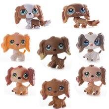Lps Genuine Original Free Shipping Pet Shop Toys  Shorthair Great Dane Cocker Spaniel Action figure Anime Toy for Children Gift