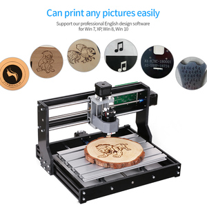 Image 4 - Laser Engraver CNC3018 PRO DIY CNC Router Engraving Machine GRBL Control 3 Axis for PCB PVC Plastic Acrylic Wood Carving Milling