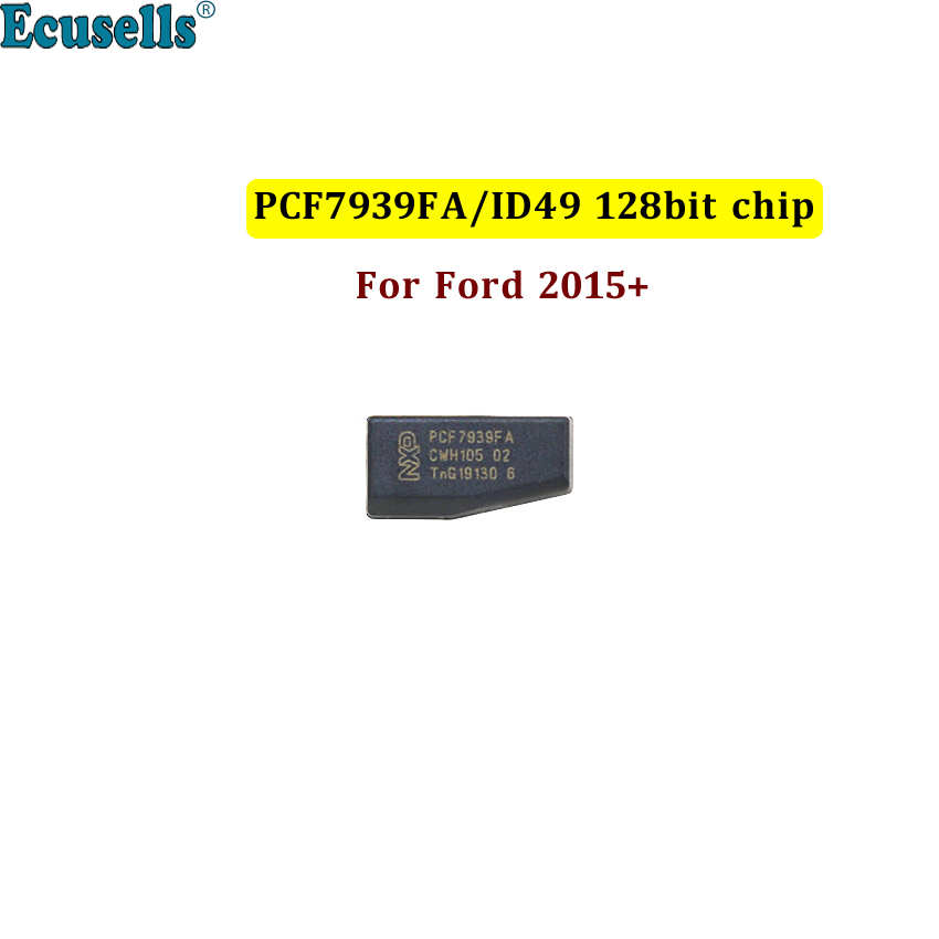 Original PCF7939FA ID49 128-Bit 49 Chip Hitag Pro Auto Transponder Immobolizer Chip For FORD Fusion Edge Mustang For Lincoln