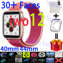 IWO 12 Smart Watch series 5 40MM 44MM Bluetooth For Apple IOS Android phone Hear