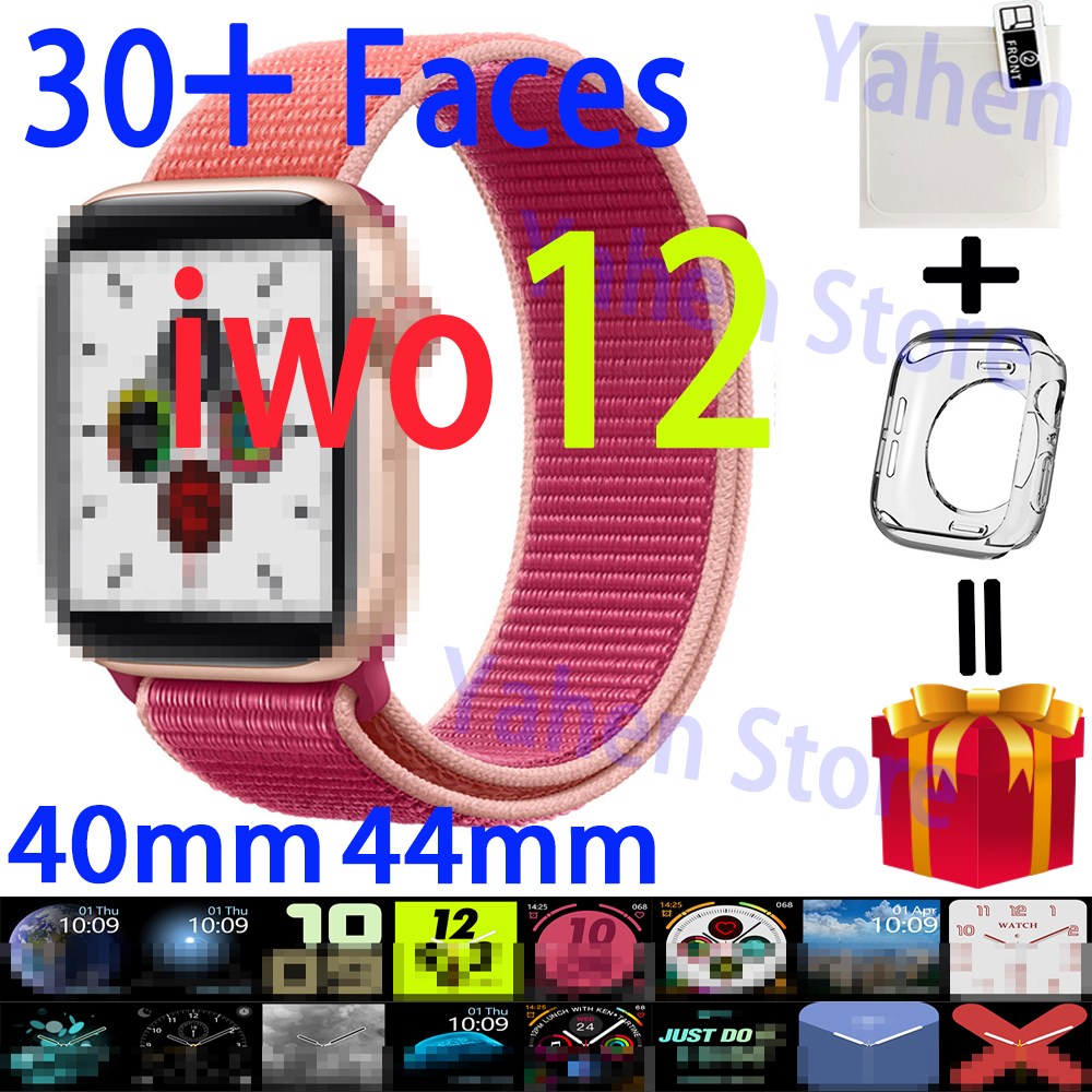 <font><b>IWO</b></font> 12 <font><b>Smart</b></font> <font><b>Watch</b></font> series 5 40MM <font><b>44MM</b></font> Bluetooth ECG For Apple IOS Android phone Heart Rate smartwatch PK <font><b>IWO</b></font> 11 Pro <font><b>8</b></font> Plus 10 13 image