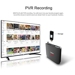 Image 5 - Mecool Satellite Receiver DVB S2/S2X Android 9.0 2GB 16GB Amlogic S905X2 WiFi 4K TV Box PVR Recording Youtube M8S PLUS Console