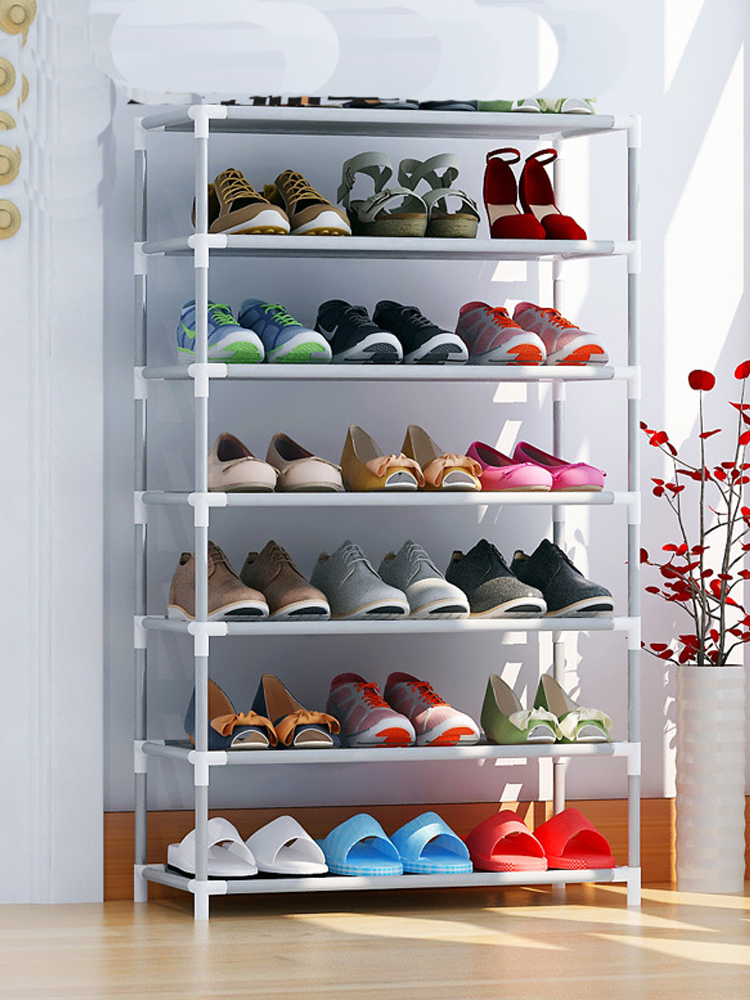 Storage-Organizer Shoe-Rack Space-Saver Multi-Layers Household Non-Woven 2/4/6-/..