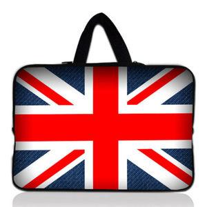 Union Jack 11,6/13/15,6 17 15 pulgadas bolso de mano de La Manga del ordenador portátil bolsa de protección para 13
