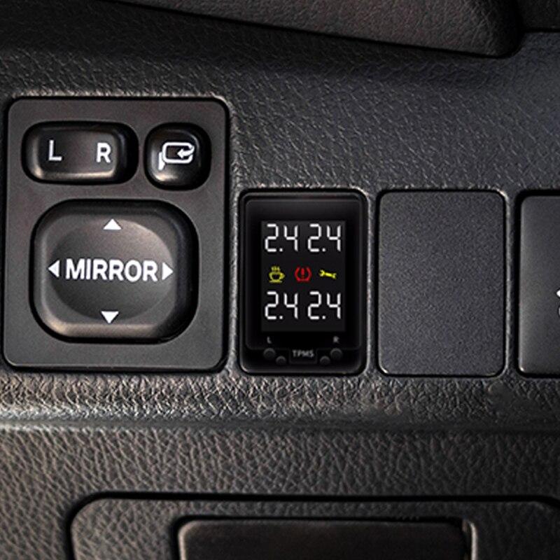 עבור טויוטה Auris 2012 סיינה 2014 הנצח קורולה 2012 LCD תצוגת OBD TPMS צמיג לחץ צג רכב צמיג בטוח מעורר מערכת