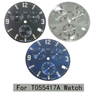 32.6mm watch dial for T055417A men's quartz T055 watch text watch accessories T055417 repair parts for G10.211 Movement